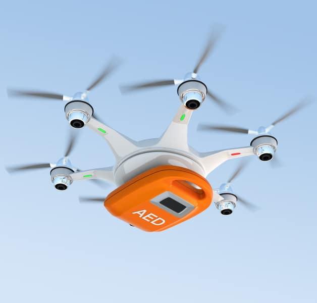 Infarto e tecnologia: un Drone ti salverà la vita